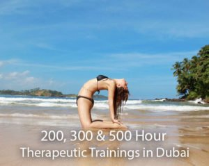 200, 300 & 500 hour Therapeutic Yoga Training in Dubai