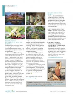 Awakened Travel Magazine, September - November 2014