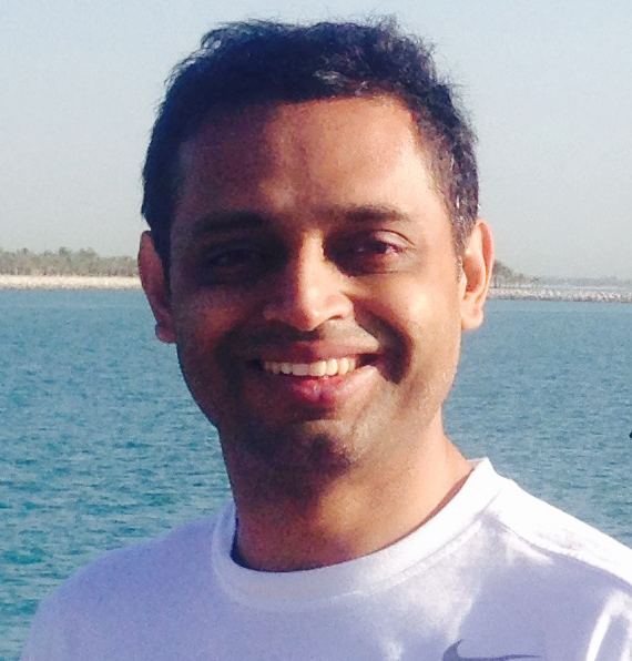 Arvind Belamkar, Dubai, UA