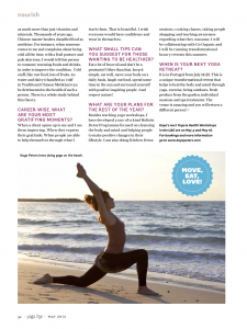 Yogalife Magazine, May 2013
