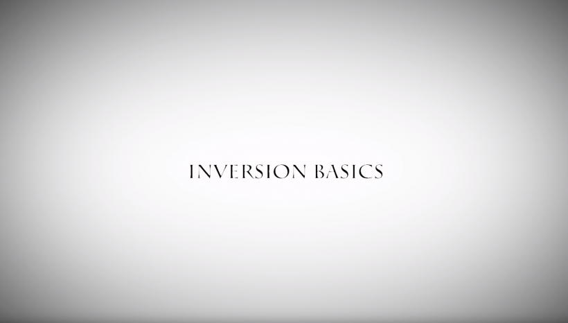 INVERSION BASICS